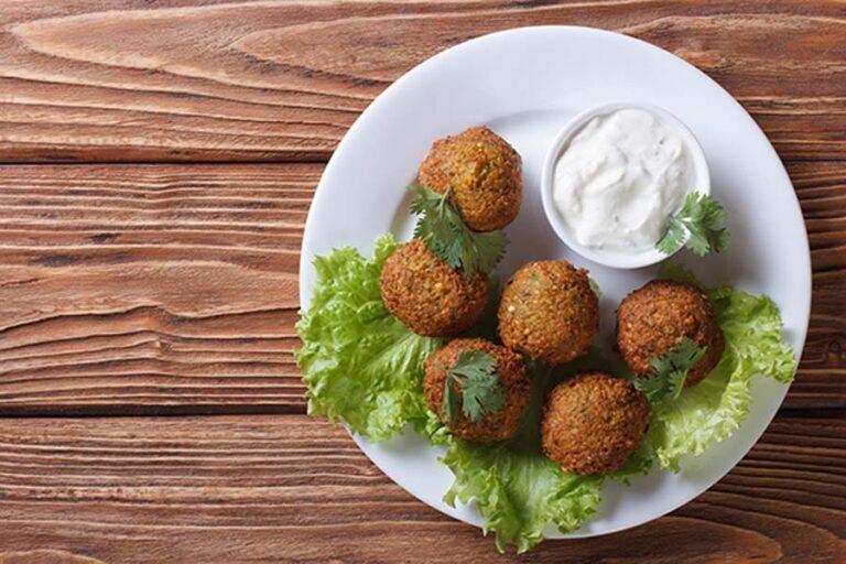 receta de falafel