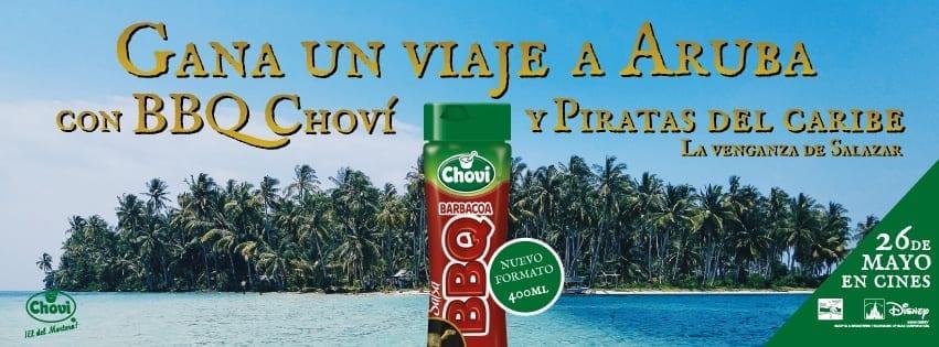 Choví ofrece una atractiva promoción con Disney Piratas del Caribe