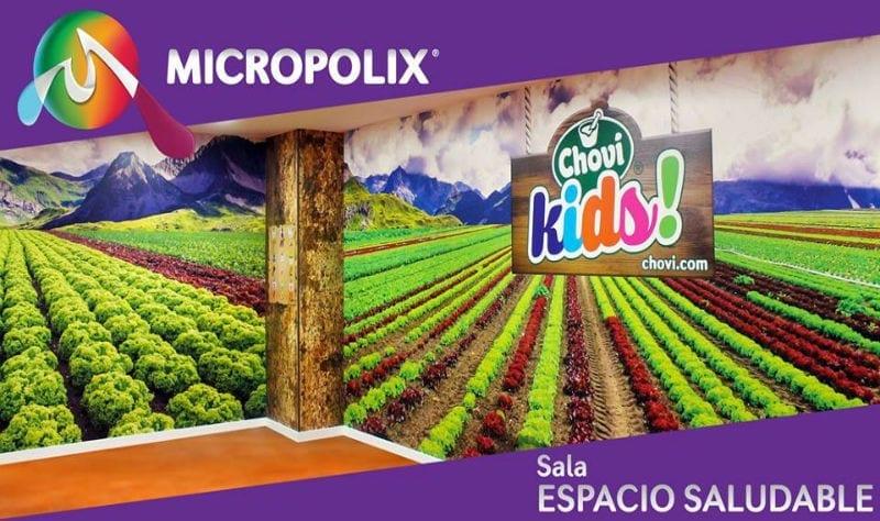 Choví Kids enseñará a los más pequeños valores sobre la alimentación saludable en Micropolix