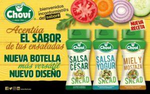 nuevo envase salsas para ensaladas