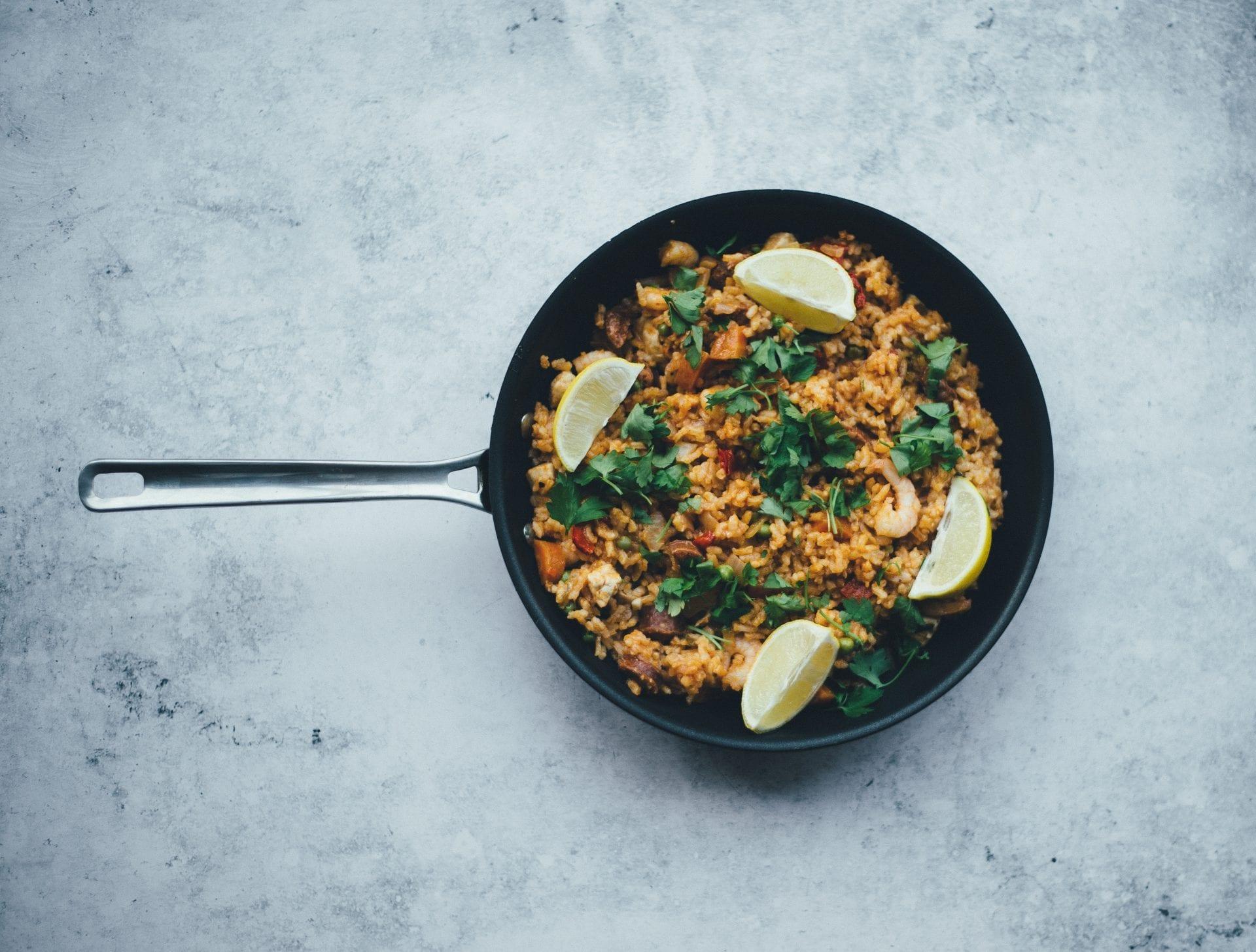 Paella gastronomía valenciana