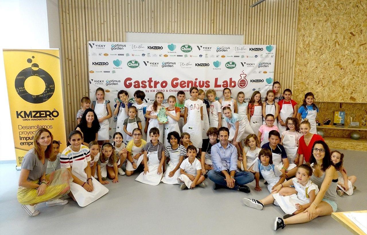 Choví patrocina Gastro Genius Lab: ¡A innovar, pequeños!