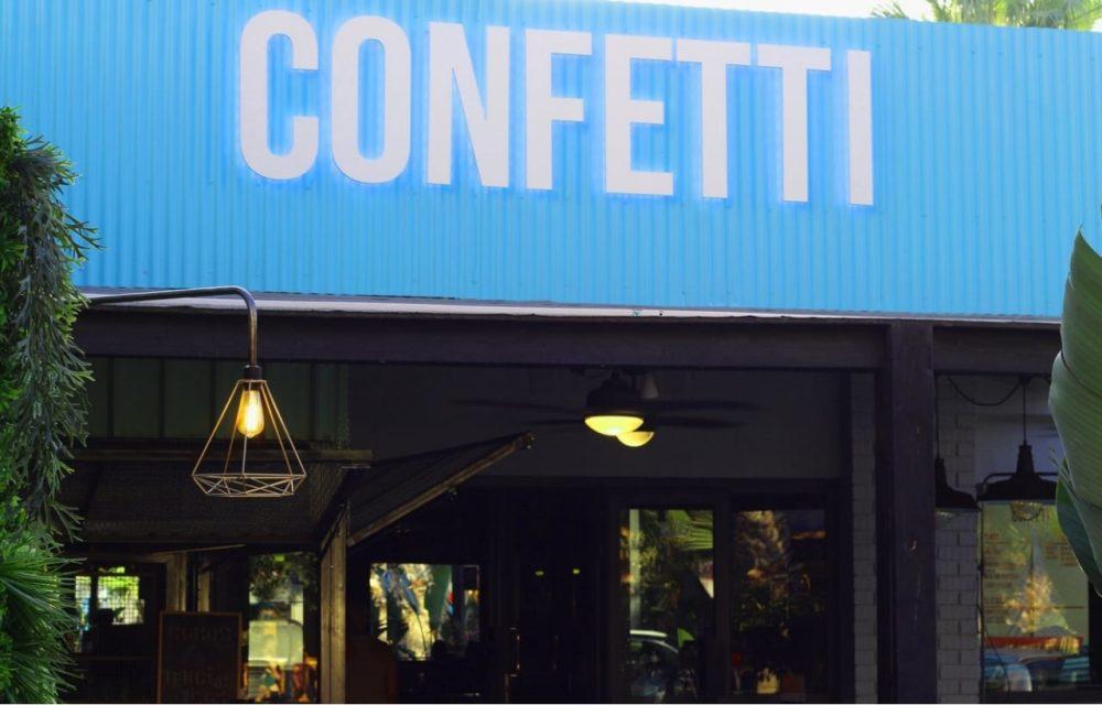 Confetti, Alicante