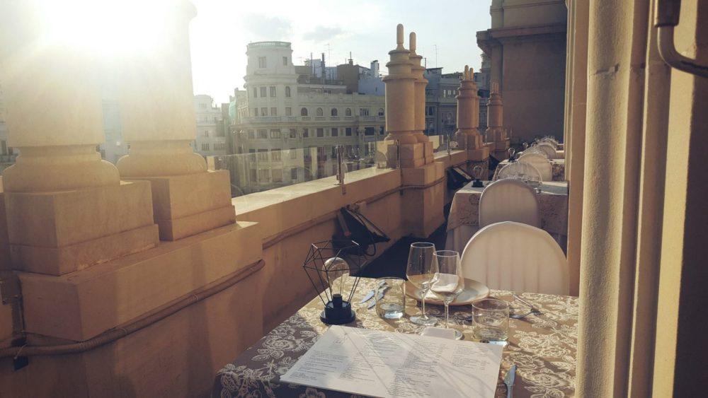 Ateneo Sky Bar. Terrazas de Valencia