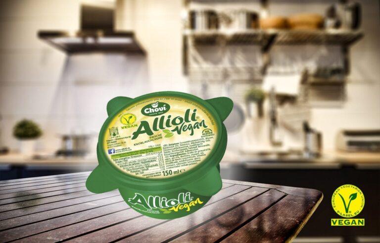 "Choví lanza su nuevo alioli vegano ""Allioli Vegan"""