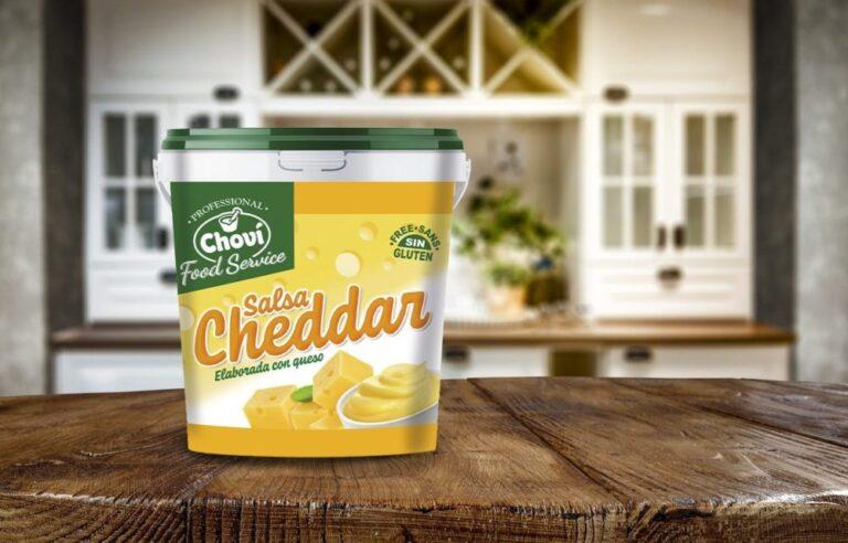 Choví lanza su nueva salsa Cheddar para el canal HORECA