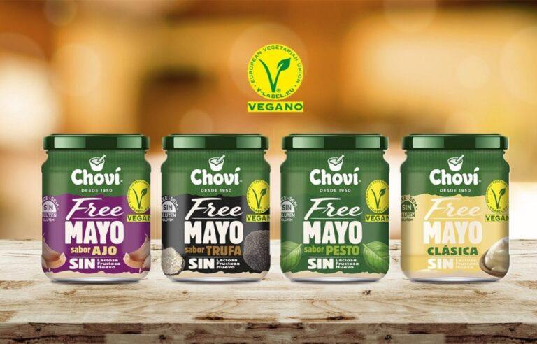 chovi lanza su gama chovi free sin gluten, leche ni huevo